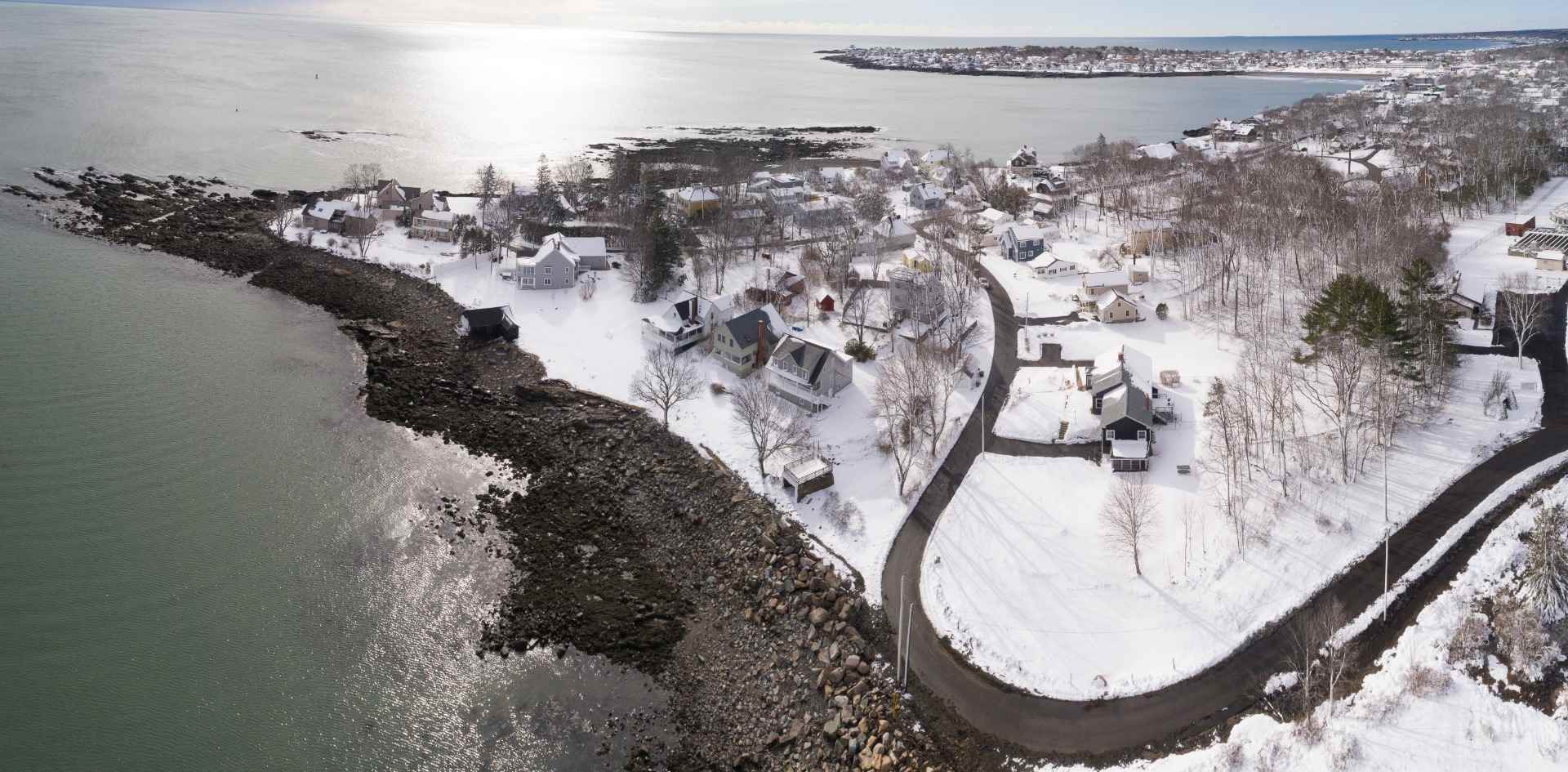 Drone Photograph York Maine